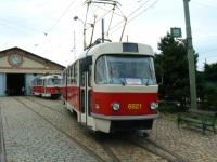Прага. Tatra T3 №6921, Tatra T3 №6892