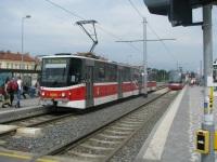 Прага. Tatra KT8D5 №9085