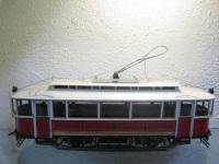 Прага. Модель трамвая
