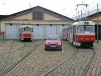 Прага. Tatra T3SUCS №7180, Tatra T3 №5419