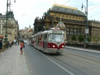 Прага. Tatra T3R.PLF №8268