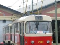 Прага. Tatra T3SUCS №7180
