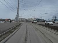 Тула. Трамвайная линия по Советской улице, ведущая на Зареченский мост через р