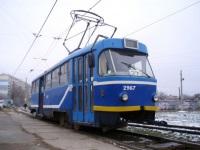 Одесса. Tatra T3SU мод. Одесса №2967