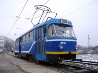 Tatra T3SU мод. Одесса №2967