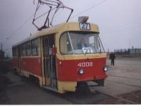Tatra T3SU №4008