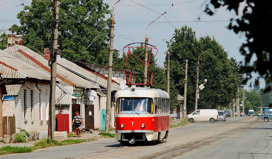 Житомир. Tatra T4 №7