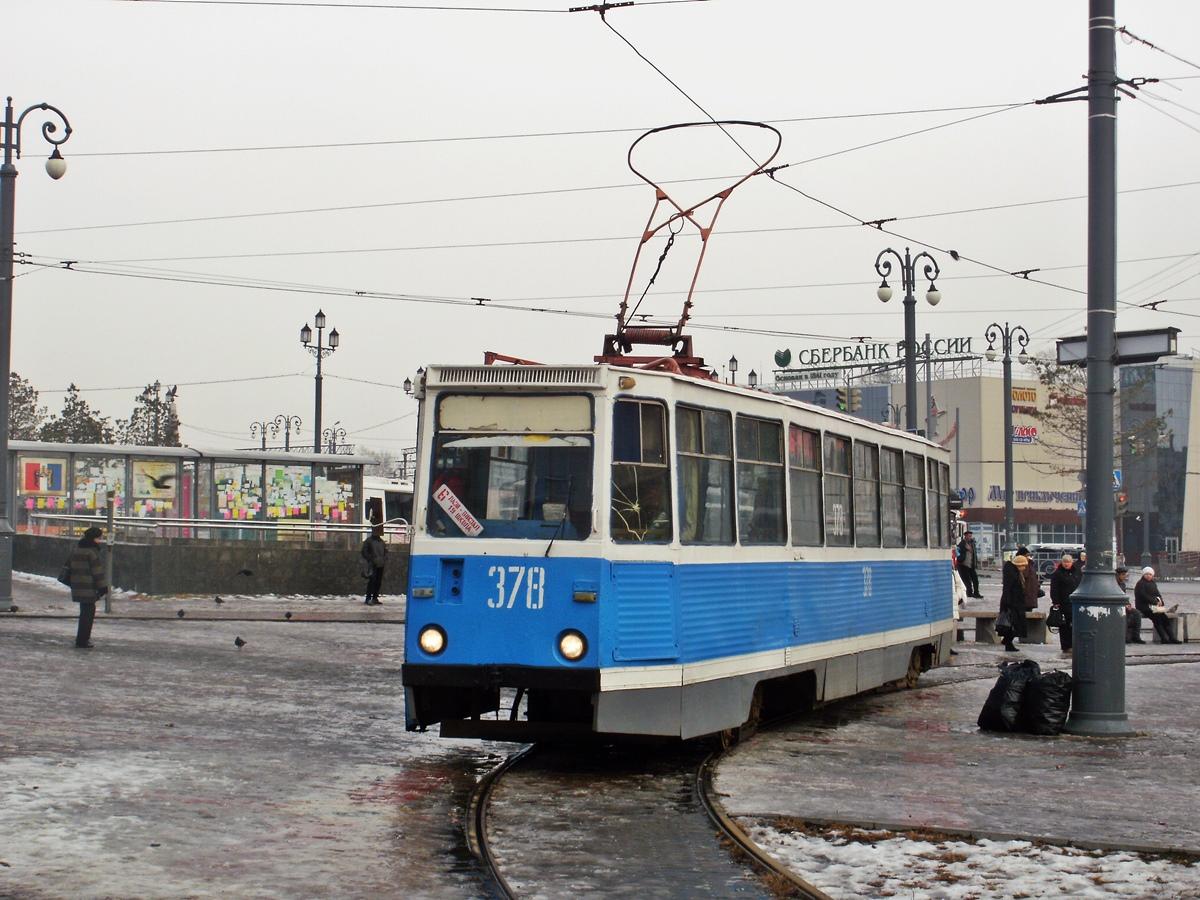 Хабаровск. 71-605 (КТМ-5) №378