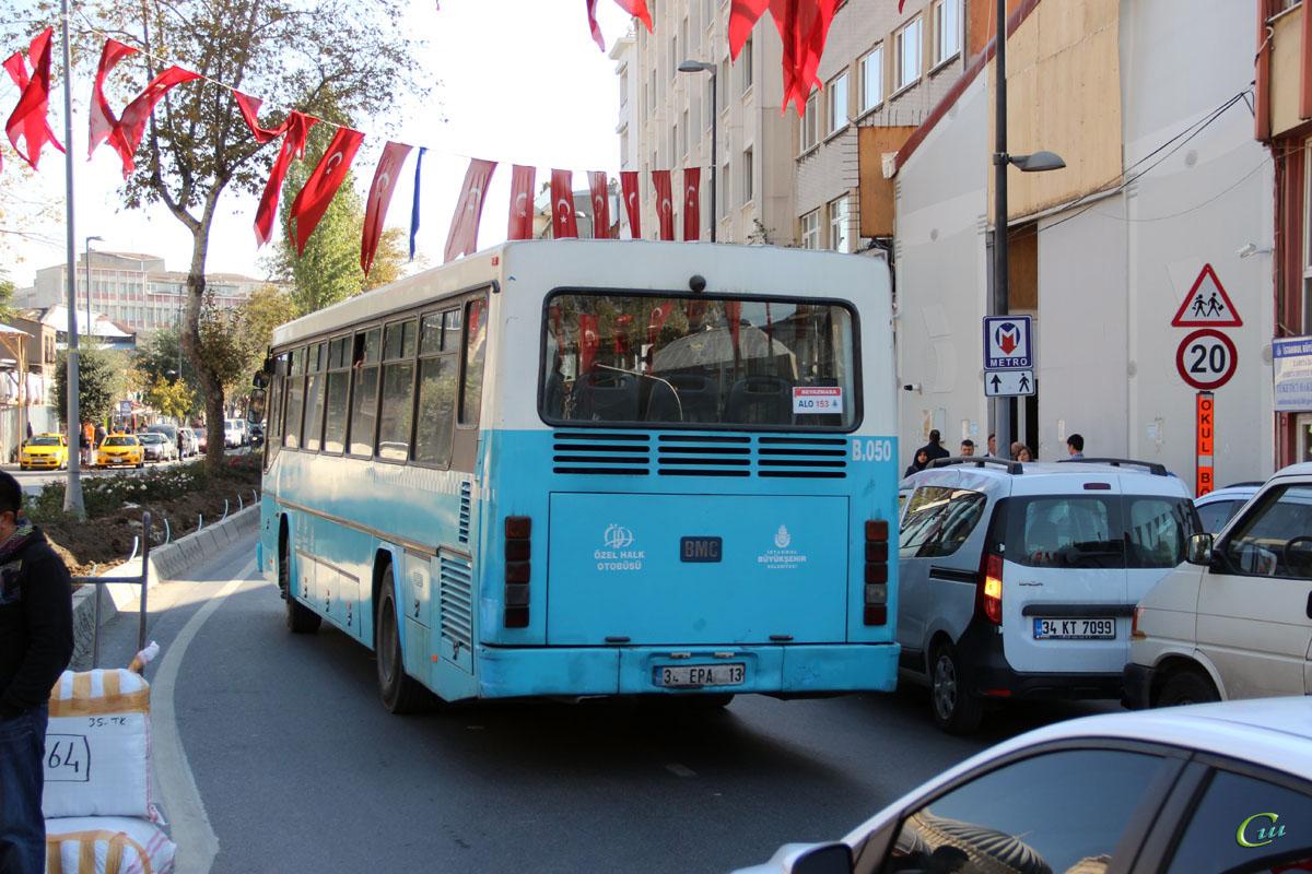Стамбул. BMC Belde 34 EPA 13