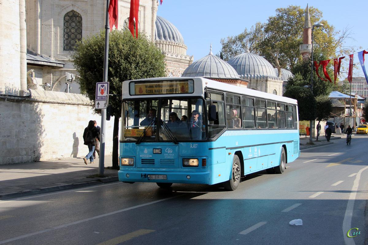 Стамбул. BMC Belde 34 EIF 56