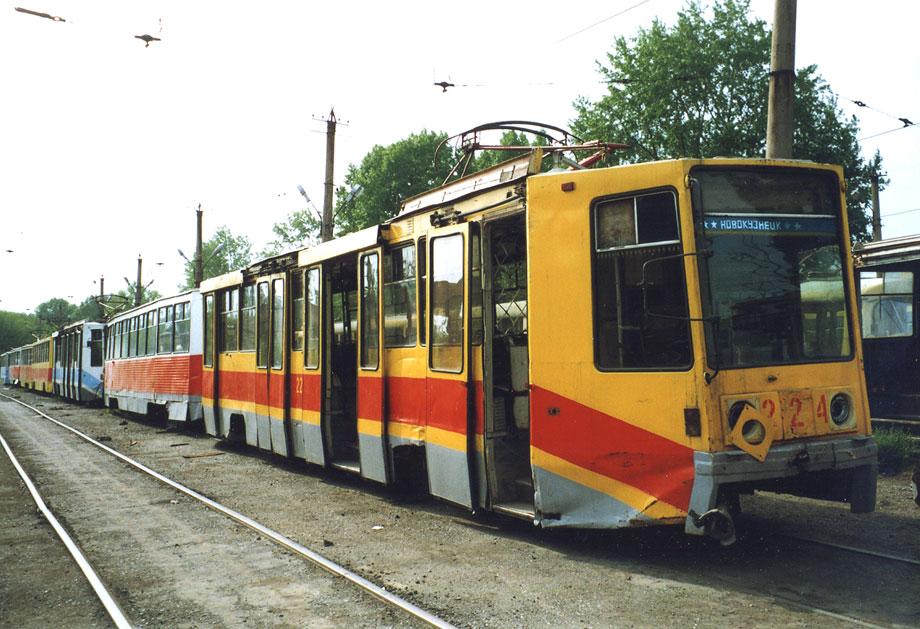 Новокузнецк. 71-608К (КТМ-8) №224