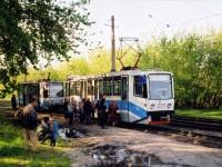 Новокузнецк. 71-608КМ (КТМ-8М) №277, 71-608К (КТМ-8) №264