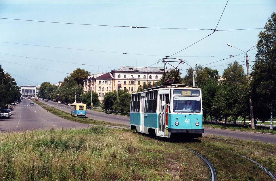 Комсомольск-на-Амуре. 71-132 (ЛМ-93) №41