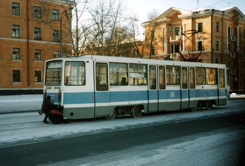 Новотроицк. 71-608КМ (КТМ-8М) №66