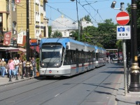 Стамбул. Bombardier Flexity Swift №721