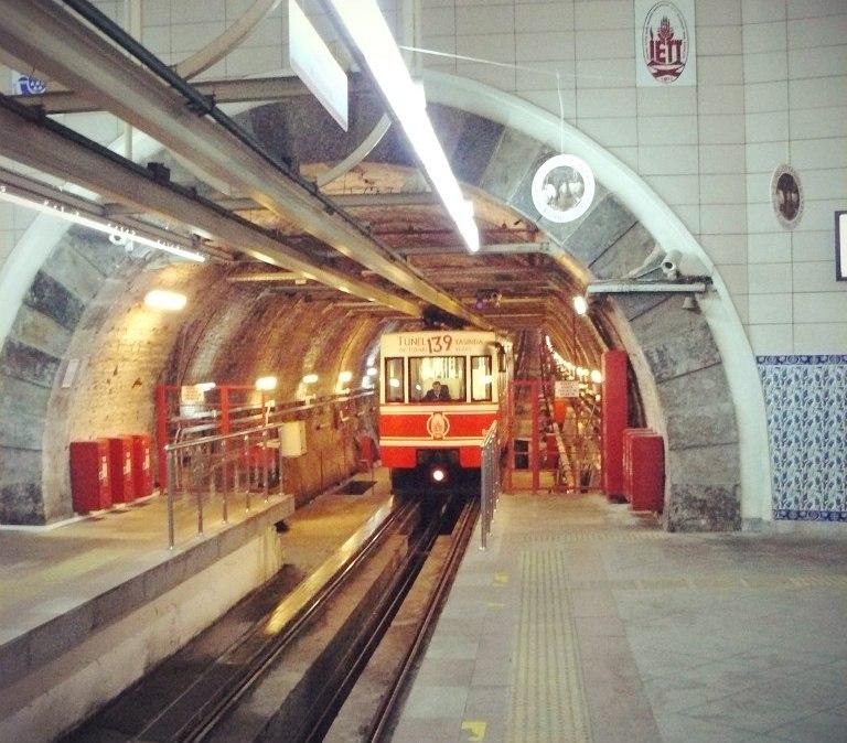 Стамбул. Фуникулер Özbir №2