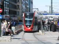 Стамбул. Alstom Citadis 301 №831