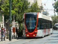 Стамбул. Alstom Citadis 301 №808