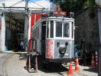 Стамбул. Двухосный моторный вагон №223