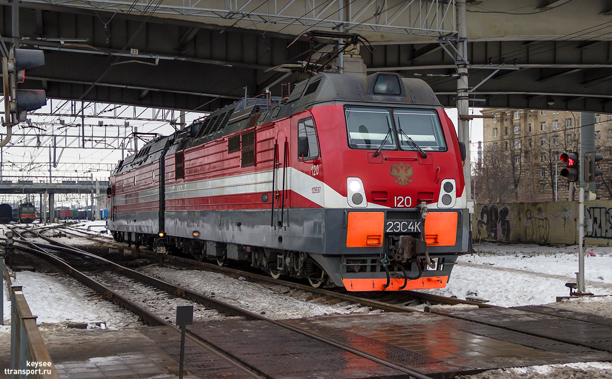 Санкт-Петербург. 2ЭС4К-120