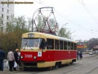 Москва. Tatra T3 (МТТЧ) №3388