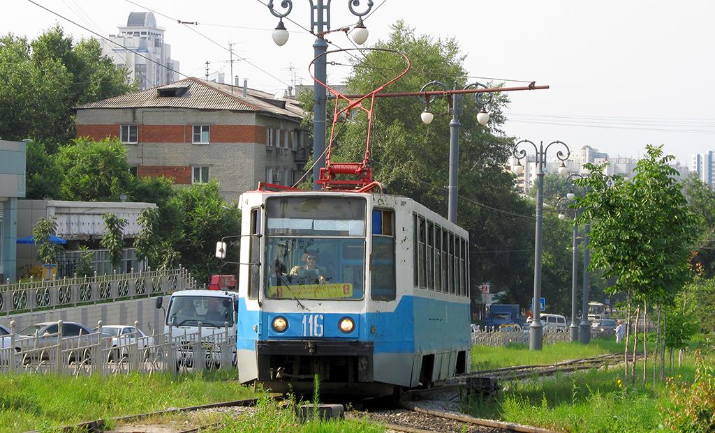 Хабаровск. 71-608К (КТМ-8) №116