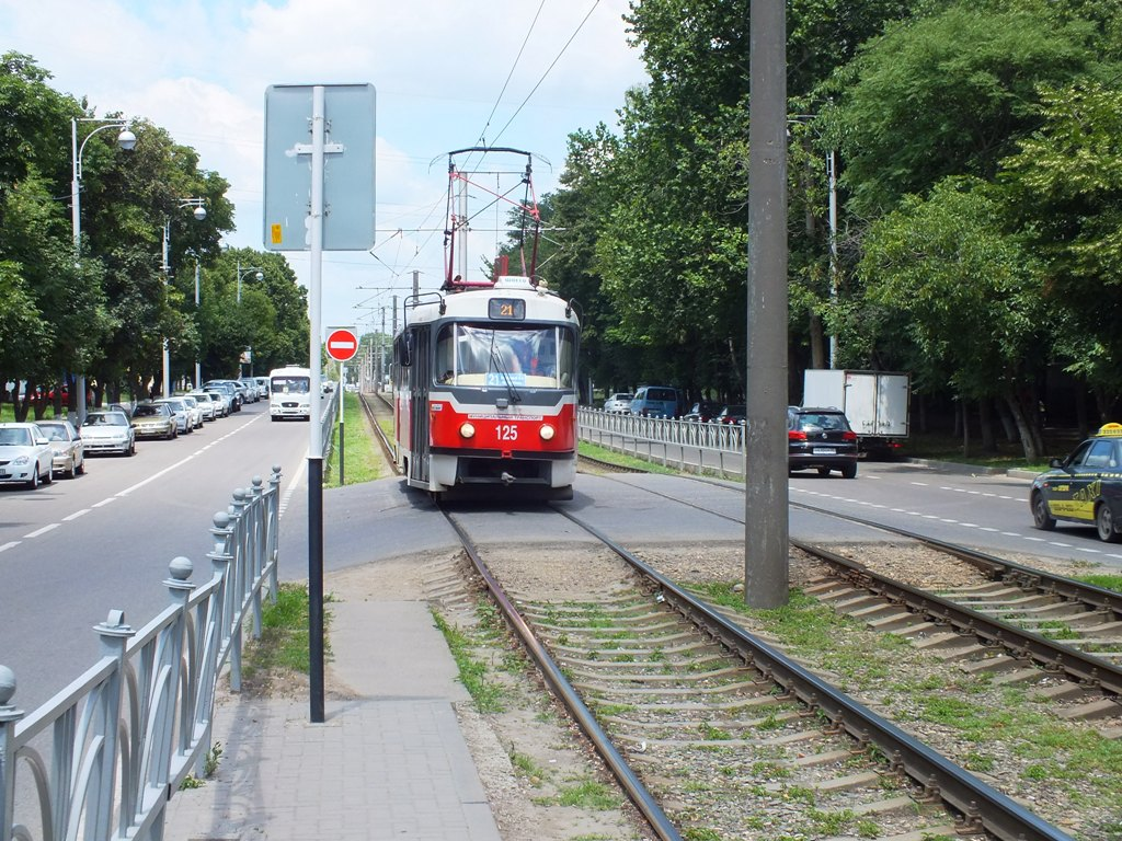 Краснодар. Tatra T3SU №125
