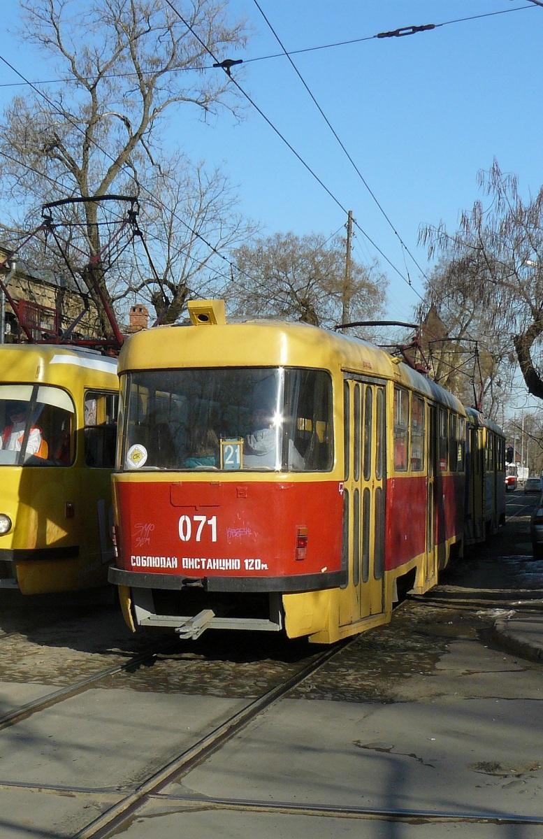 Краснодар. Tatra T3SU №071