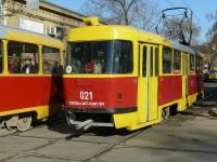 Краснодар. Tatra T3SU №021
