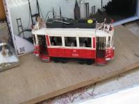 Стамбул. Двухосный моторный вагон №47