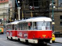 Прага. Tatra T3SUCS №7091