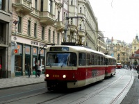 Прага. Tatra T3R.PV №8180