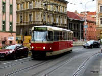 Прага. Tatra T3R.P №8558