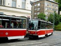 Прага. Tatra T6A5 №8745