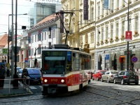 Прага. Tatra T6A5 №8742