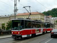 Прага. Tatra T6A5 №8667
