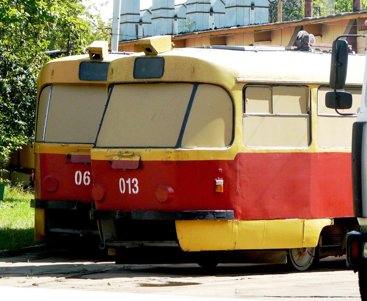 Москва. Tatra T3SU №067, Tatra T3SU №013