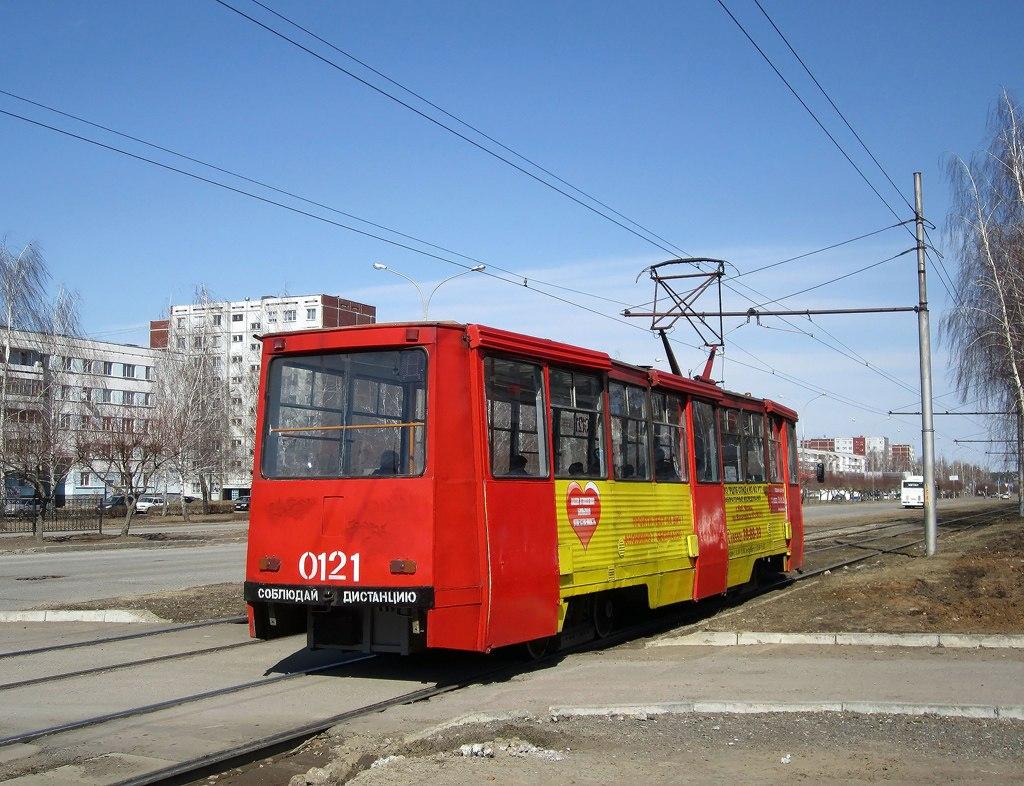 Набережные Челны. 71-605А (КТМ-5А) №0121
