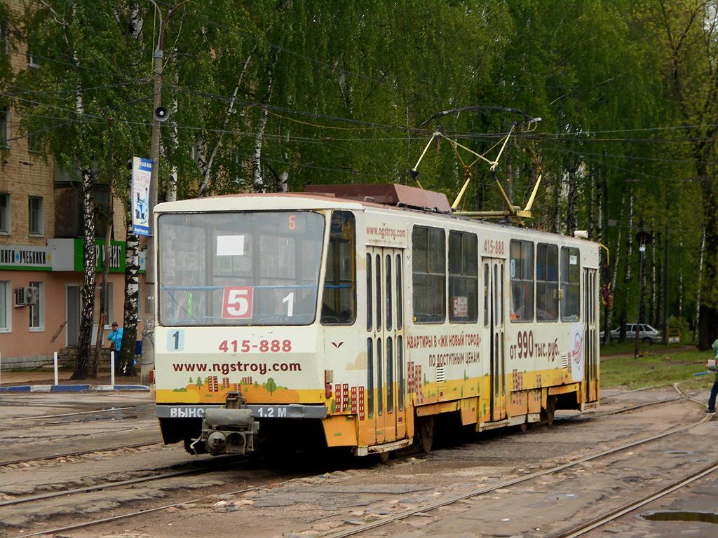 Тверь. Tatra T6B5 (Tatra T3M) №1