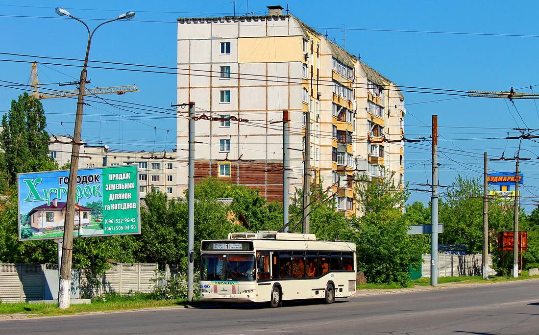 Белая Церковь. МАЗ-ЭТОН Т103 №005