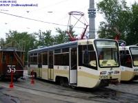 Москва. Конка №35, 71-619К (КТМ-19К) №2034, 71-619КТ (КТМ-19КТ) №2065
