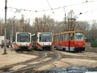 Липецк. 71-608К (КТМ-8) №1004, 71-608К (КТМ-8) №1005, 71-605А (КТМ-5А) №1155