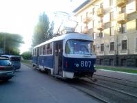 Запорожье. Tatra T3SU №807