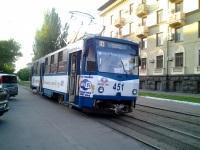 Запорожье. Tatra T6B5 (Tatra T3M) №451