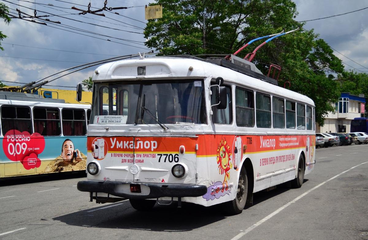 Крым. Škoda 9TrH27 №7706
