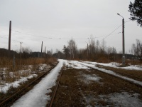 Тверь. Закрытая трамвайная линия в Константиновку, использовалась маршрутами 3 (отменён в 2010 г