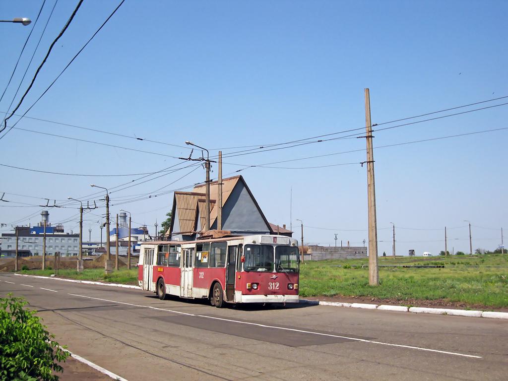 Алчевск. ЗиУ-682В №312