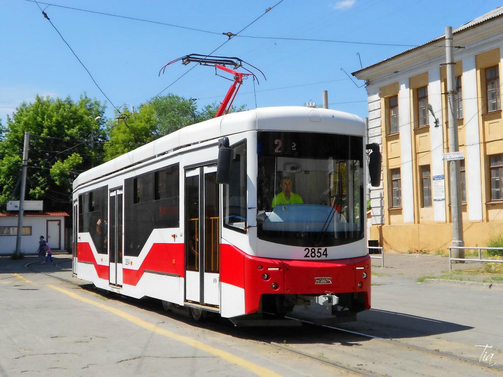 Волгоград. 71-407-01 №2854