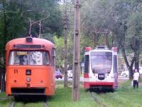 Хабаровск. 71-134А (ЛМ-99АВН) №105, РВЗ-6М2 №171