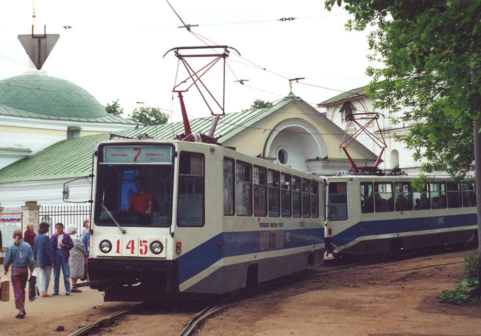 Ярославль. 71-608К (КТМ-8) №145, 71-608К (КТМ-8) №146